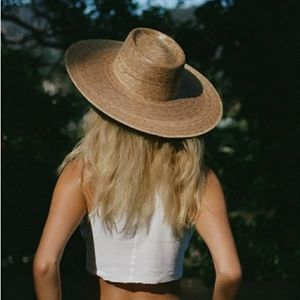 NEW Lack of Color Palma Wide Boater Sun Hat